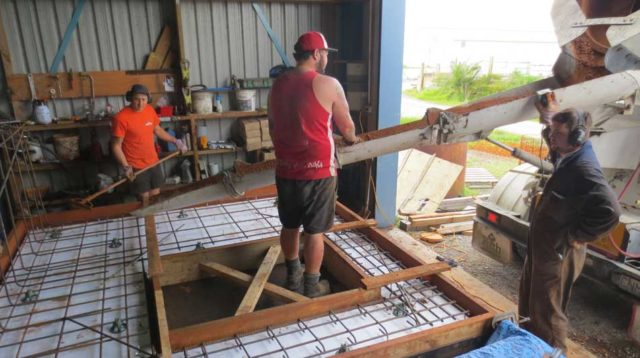 Making the Concrete Walls