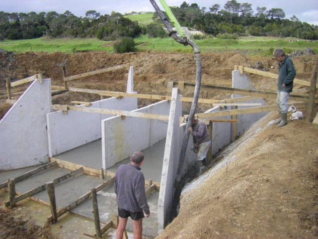 Flood Gate System in construction