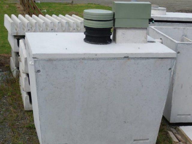 Techtreat Concrete Septic Tank